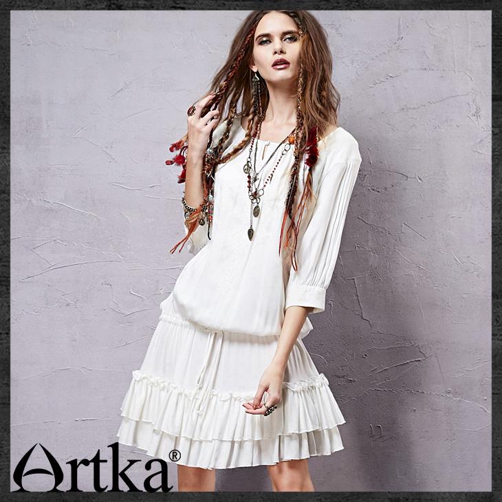 Artka белое платье