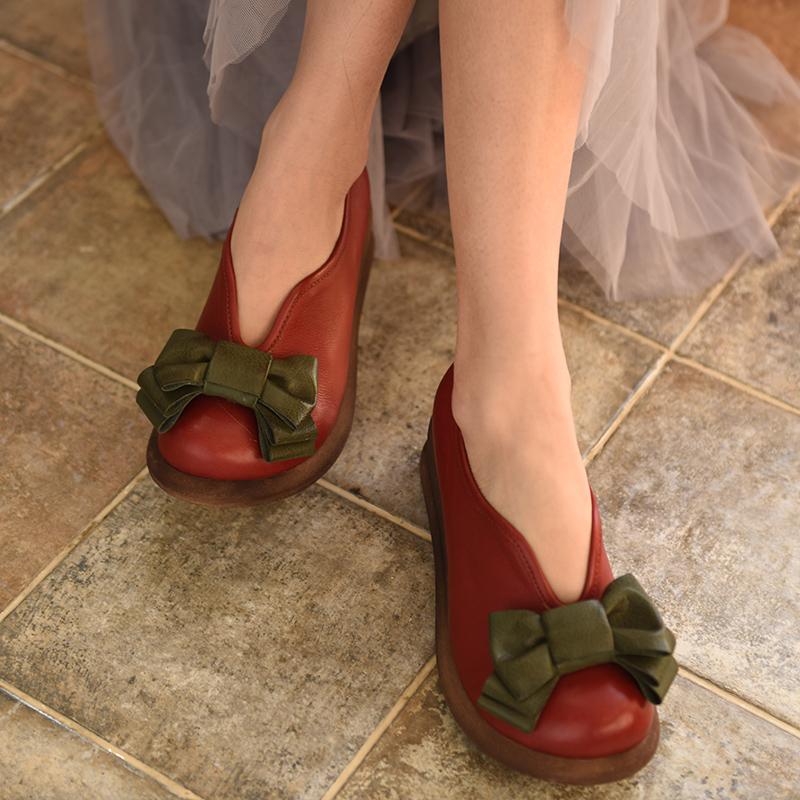 Artmu кожаные туфли с бантом