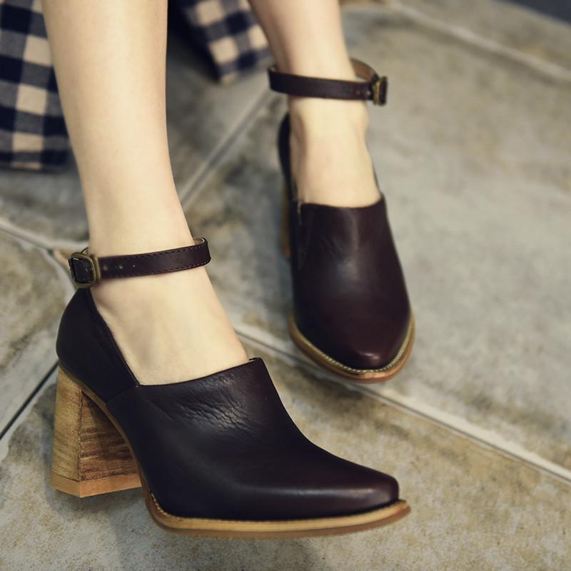 Artmu закрытые туфли на высоком каблуке