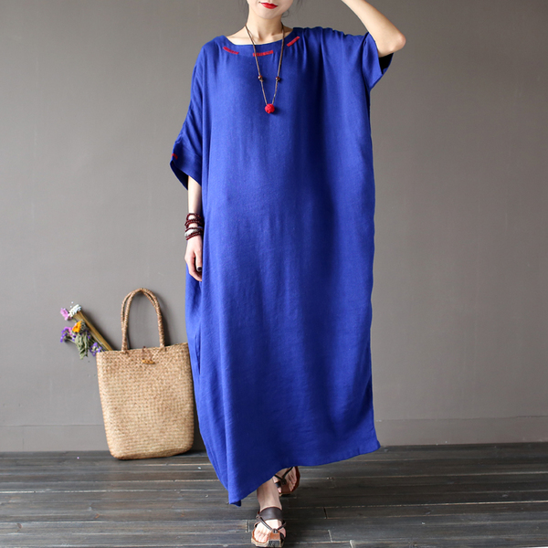 Pale ink широкое платье