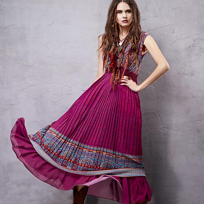 Artka платье без рукавов с плиссированным низом