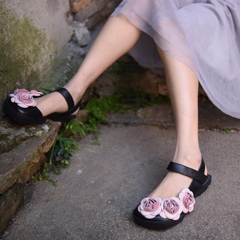 Artmu туфли с цветочками