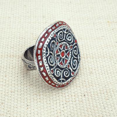 Кольцо Солнцеворот в Русском стиле