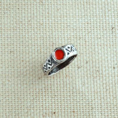 Кольцо Солнцеворот утонченное серебряное