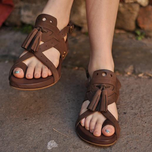 Artmu римские сандалии с кисточками