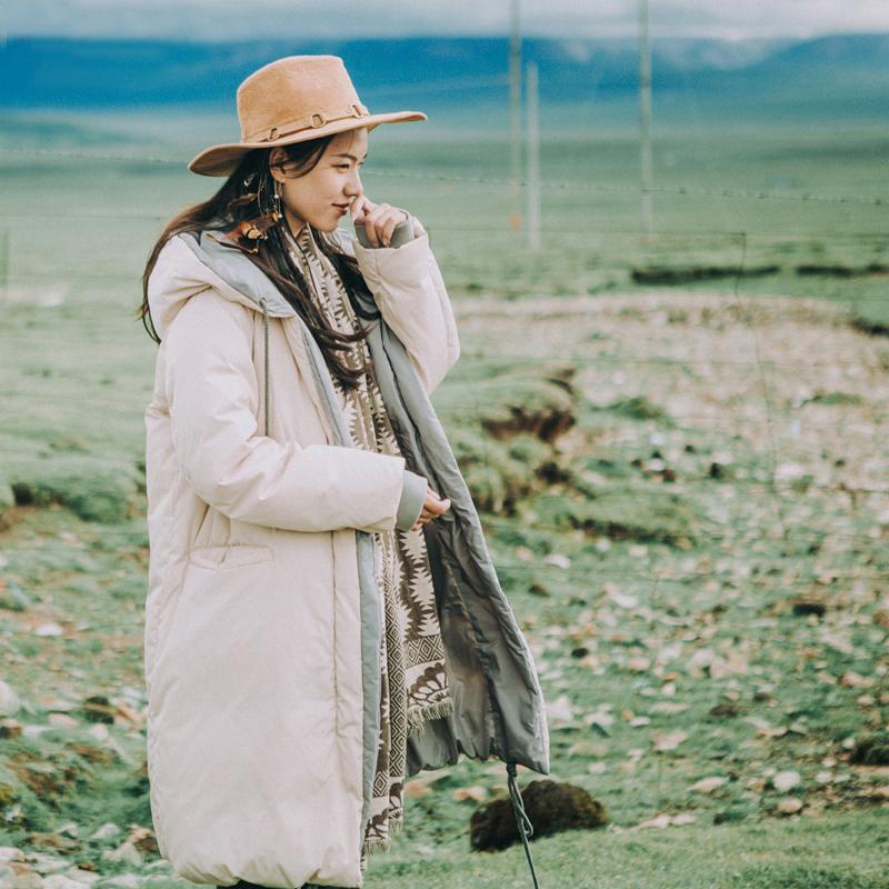 Artka белый пуховик с капюшоном