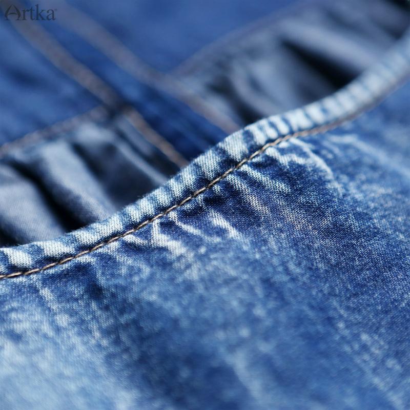 Artka джинсовое платье