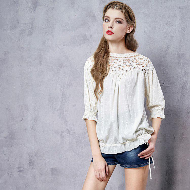 Artka блузка с кружевом