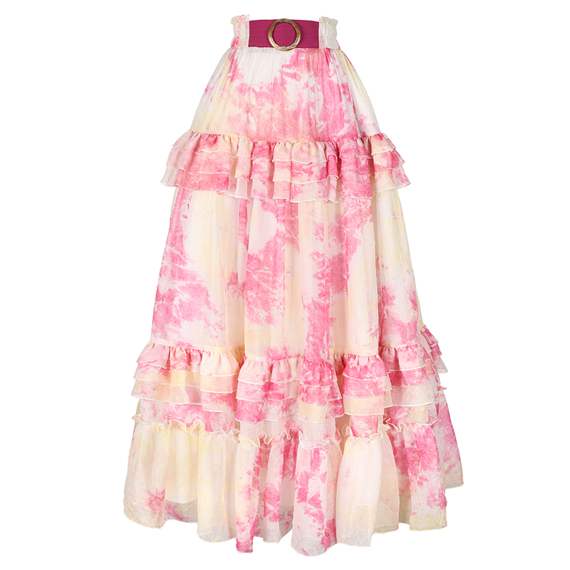 Boshow пляжная разноцветная юбка