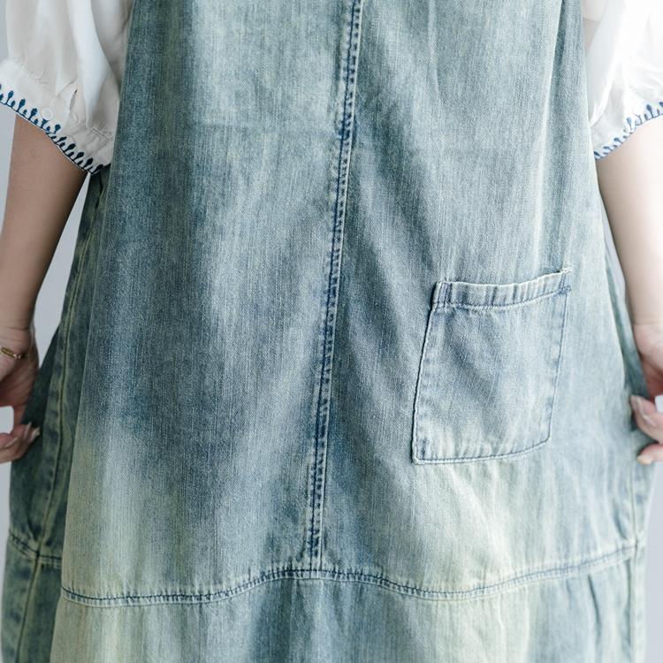 QINGZHUO джинсовый сарафан