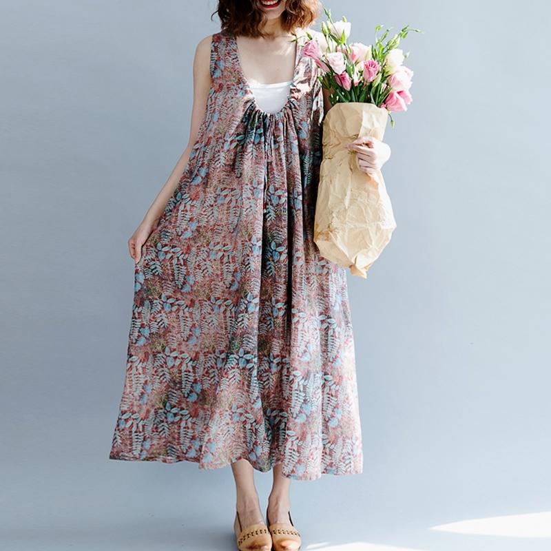 Свободные бохо платья от бренда Qingzhuo - 2018