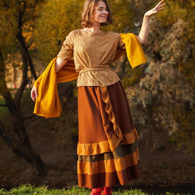 WonderMary юбка «Три цвета осени»