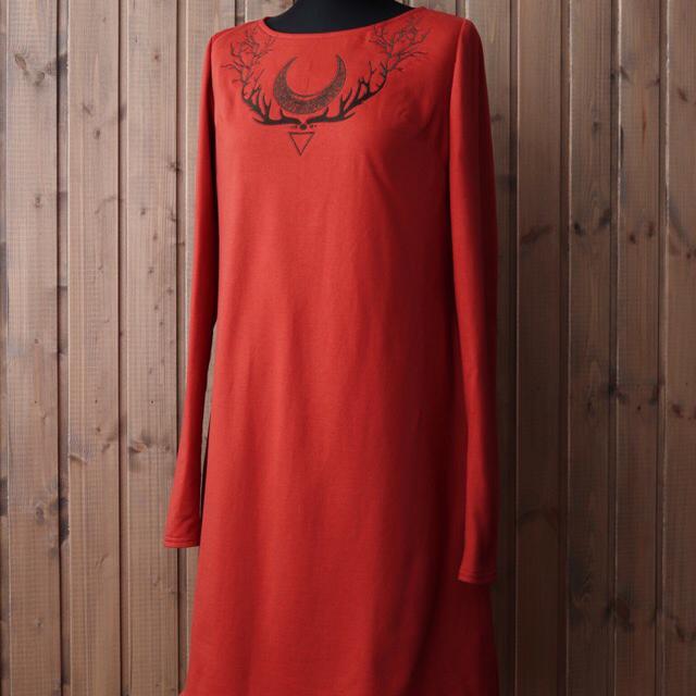 Ведь.Мы красное платье из футера