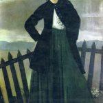 История Бохо: Дорелия Макнейл - муза и жена художника Огастеса Джона
