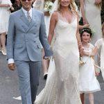 Свадебное бохо платье Кейт Мосс