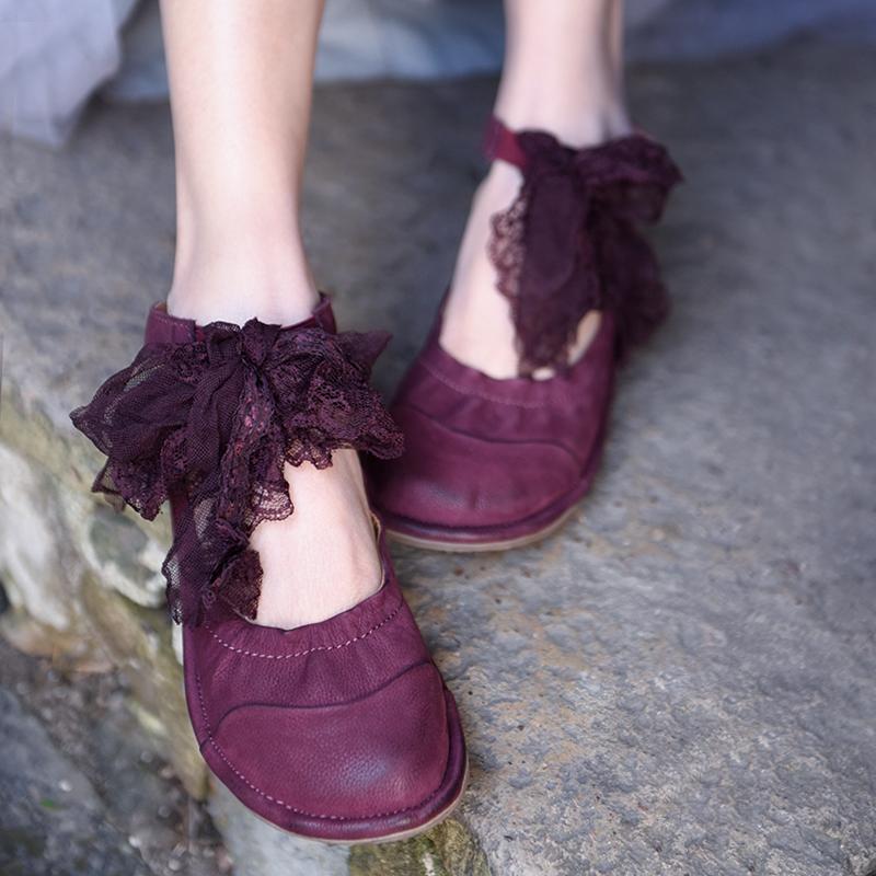 Artmu обувь на низком каблуке из натуральной кожи