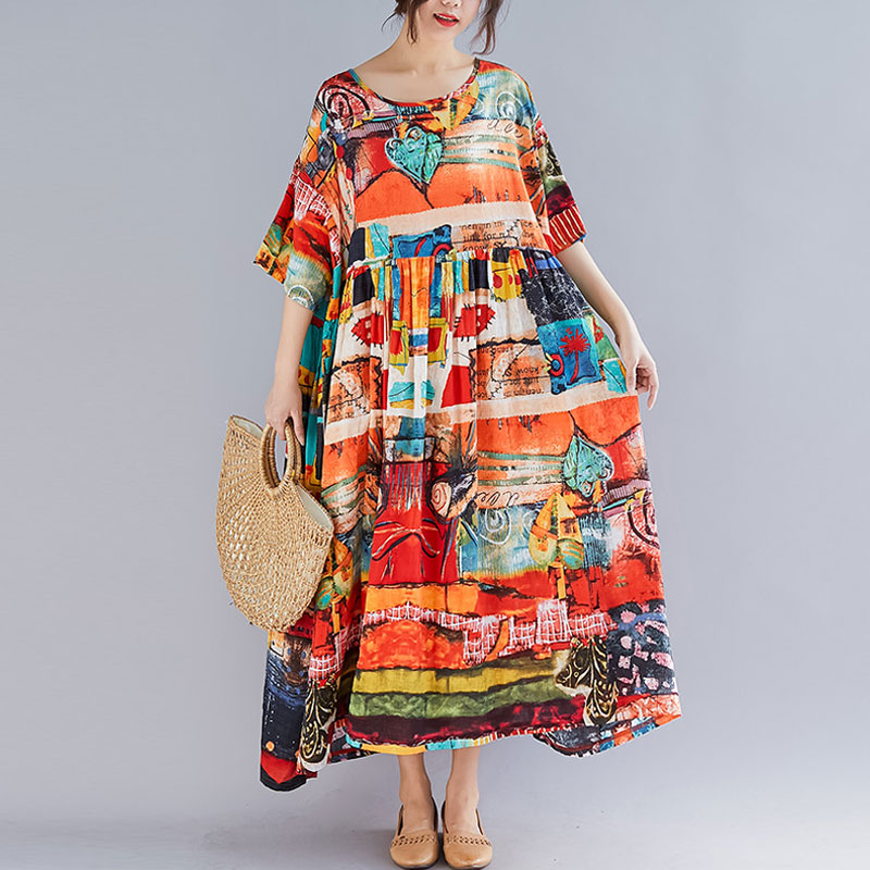 Свободные платья на лето — 2019