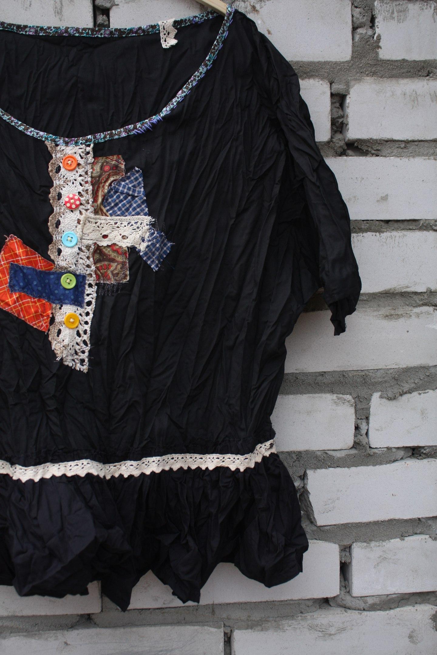 Мастер-класс Раскрой, декор и пошив блузки
