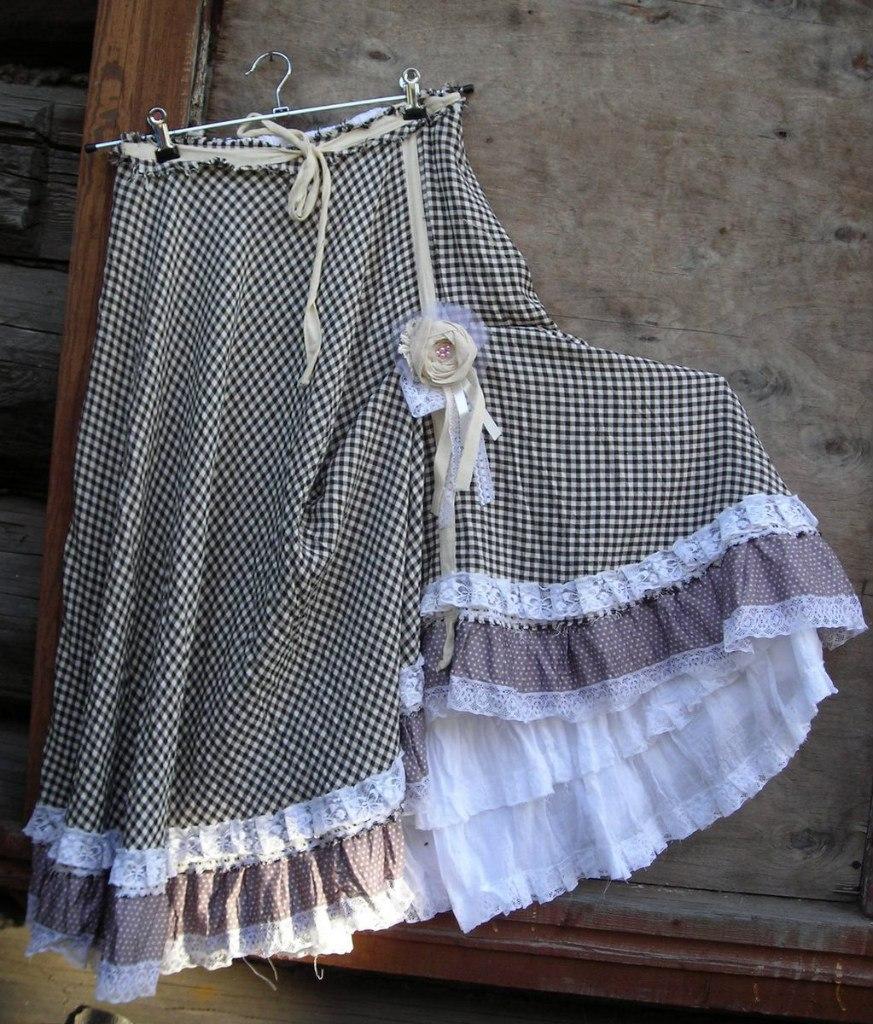 Мастер-класс Пошив асимметричная юбка