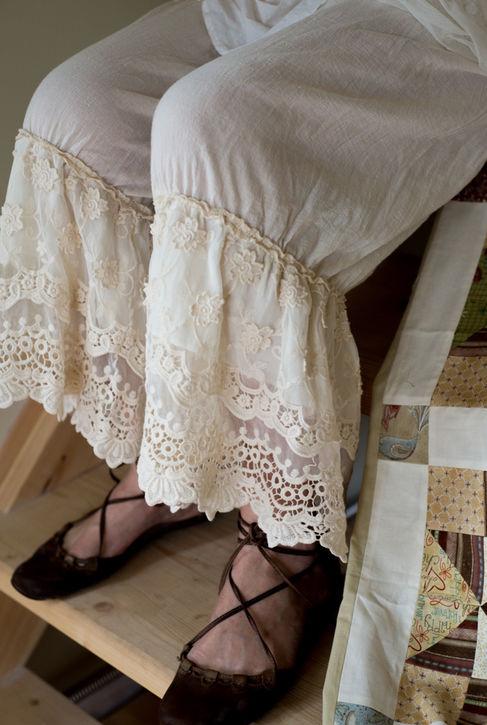 So-obraz комплект кружевная юбка и панталончики в стиле бохо