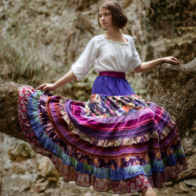 WonderMary юбка «Южные цветы»