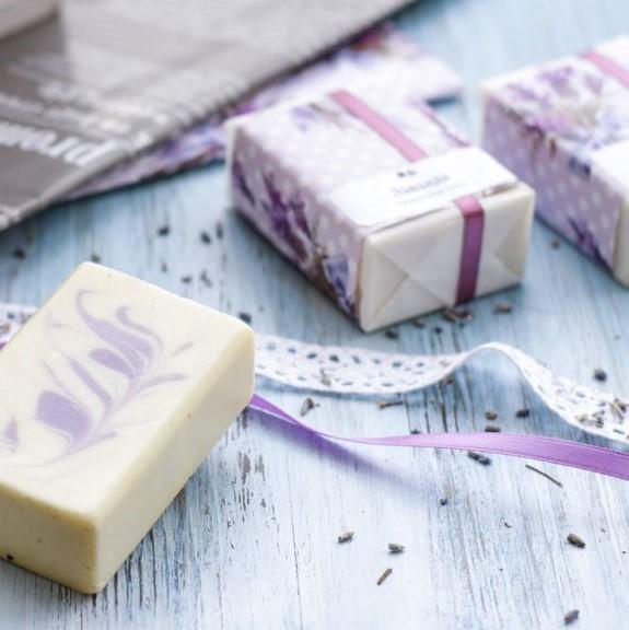 BRUSNIKA мыло с маслом ши Лаванда