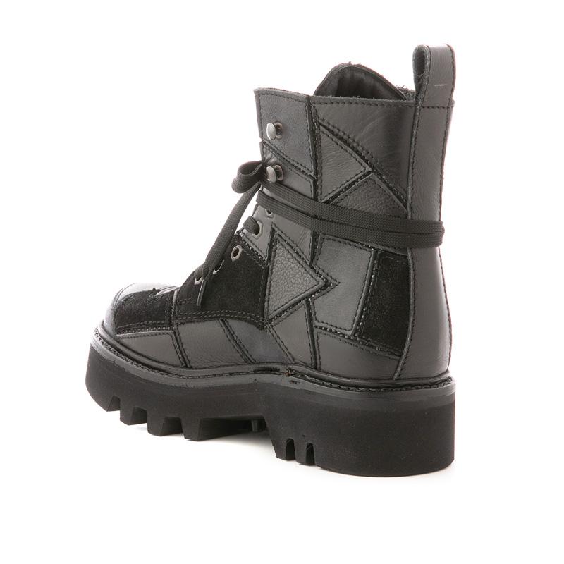 PETALICO ботинки высокие черные