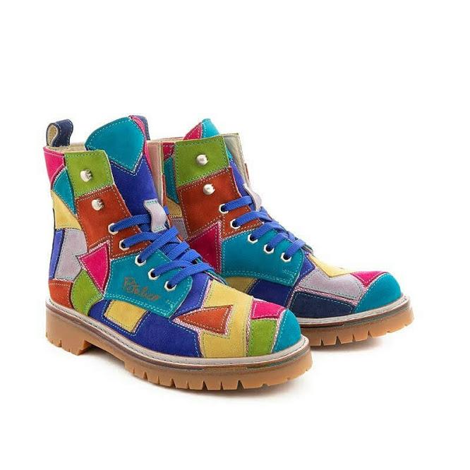 PETALICO ботинки цветные (в наличии)