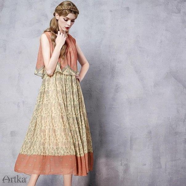 Artka византийское платье (шоу-рум)