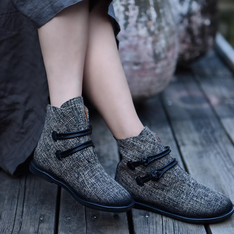 Artmu ботинки с текстильным верхом