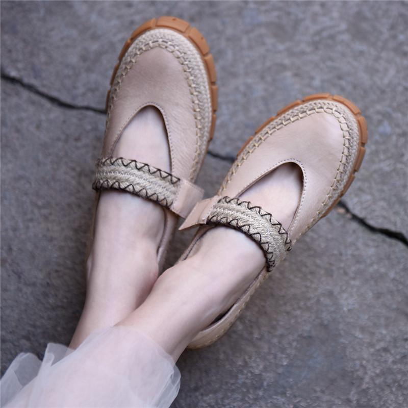 Artmu туфли на толстой подошве с ремешком
