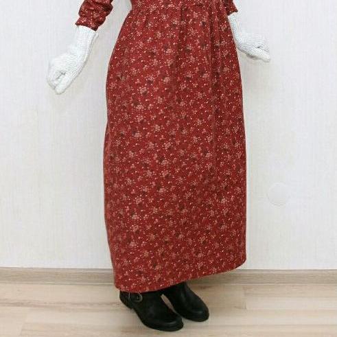 Milk&Honey платье из теплого фланелевого хлопка