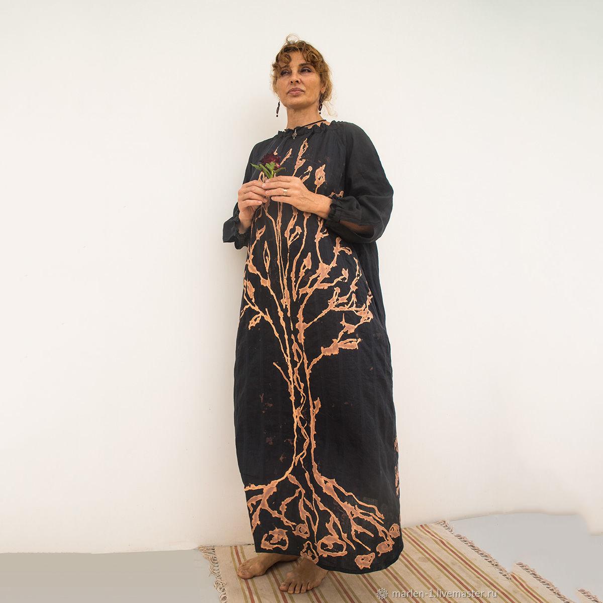 MarlЁn платье Древо жизни двухсторонее (1)