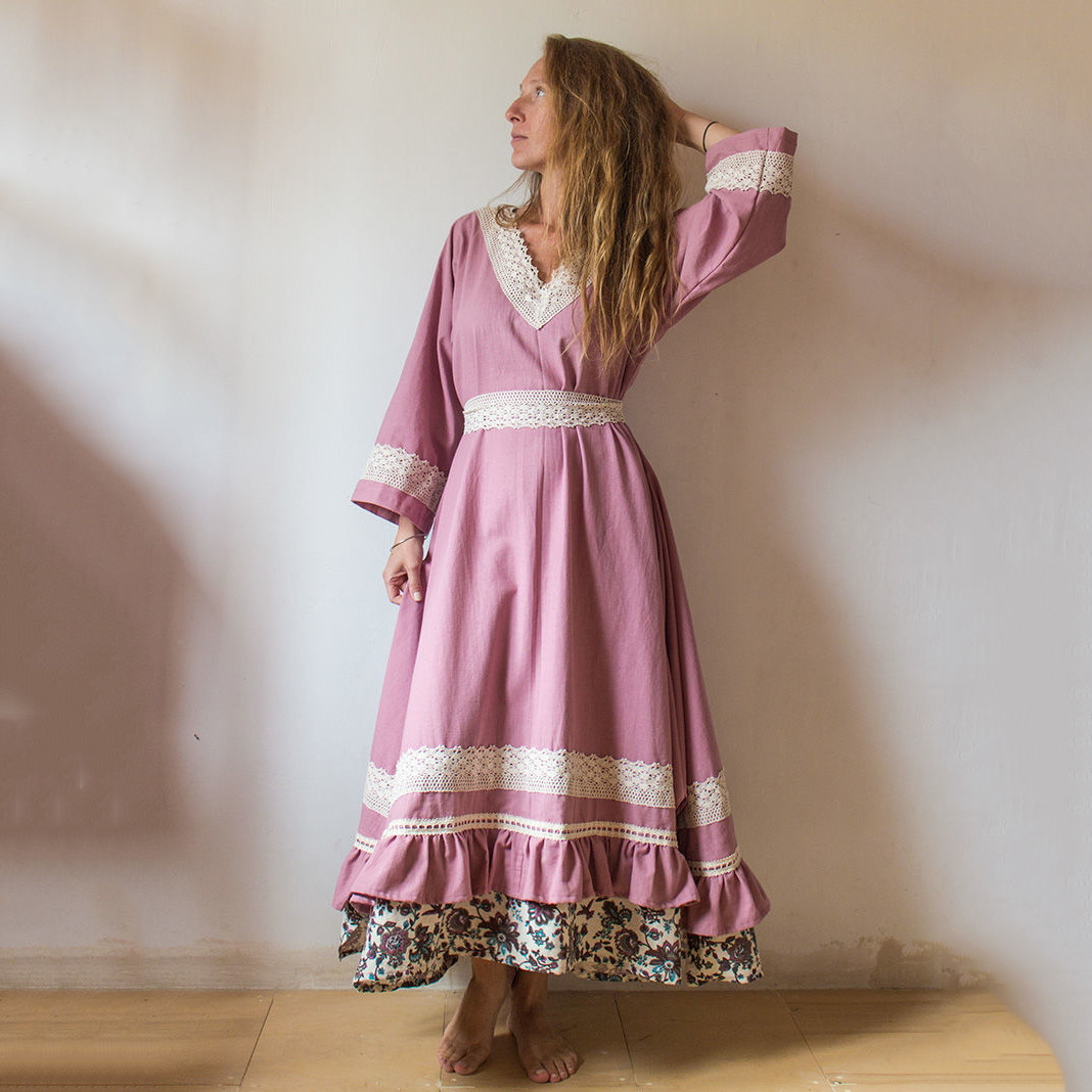 MarlЁn платье Пыльная роза (1)