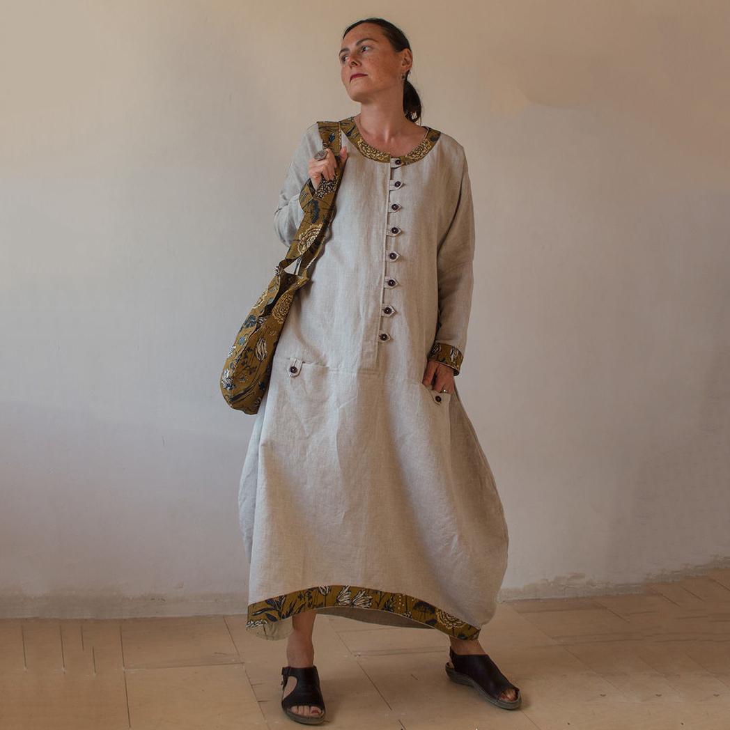 MarlЁn платье льняное Чайная церемония