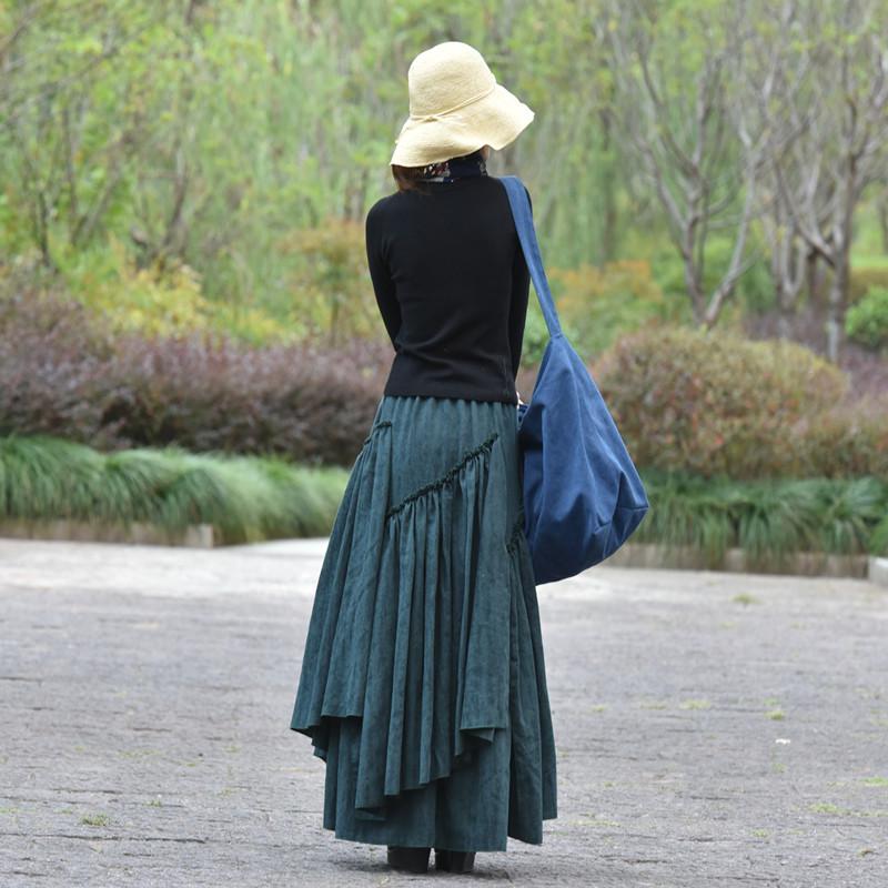 Suxin многослойная юбка жаккард