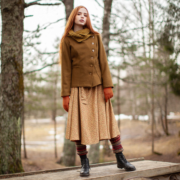 WonderMary жакет-пальто Кукушкин лен