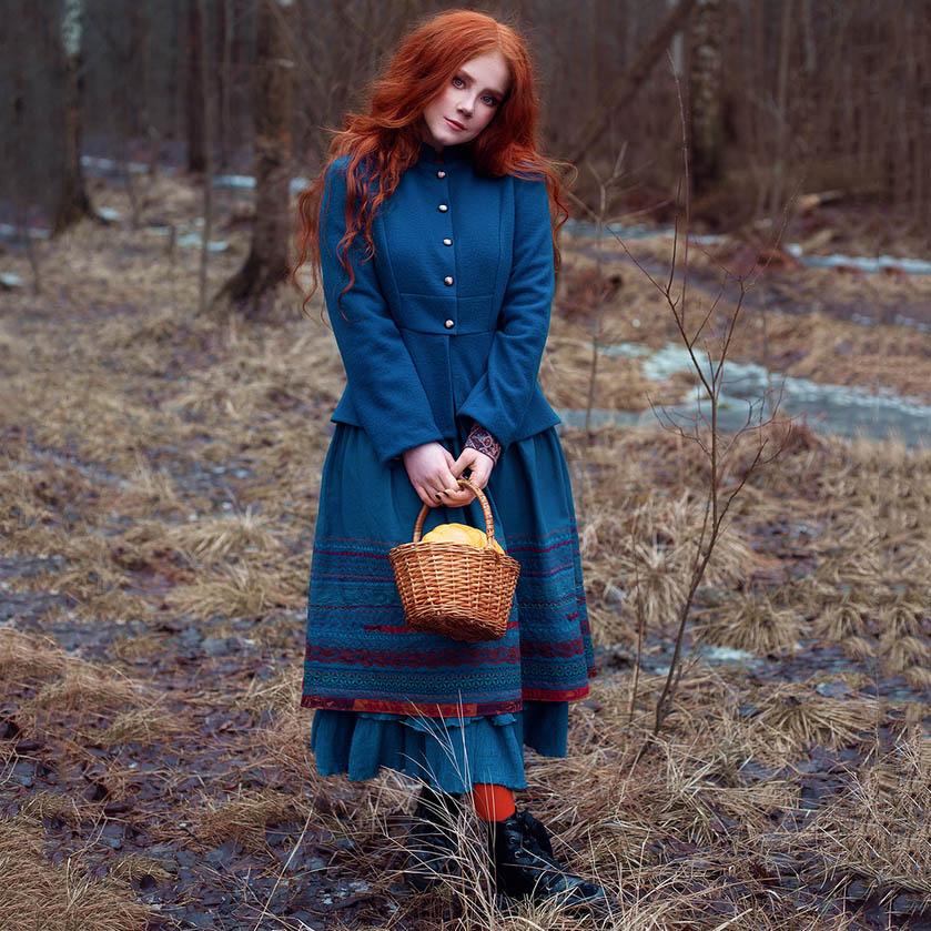 WonderMary юбка с вышивкой Самайн