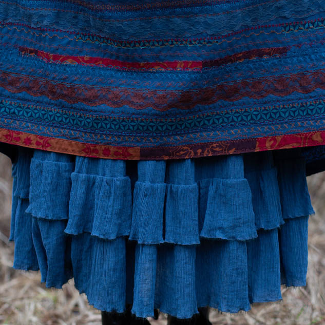 WonderMary юбка с оборками нижняя Самайн