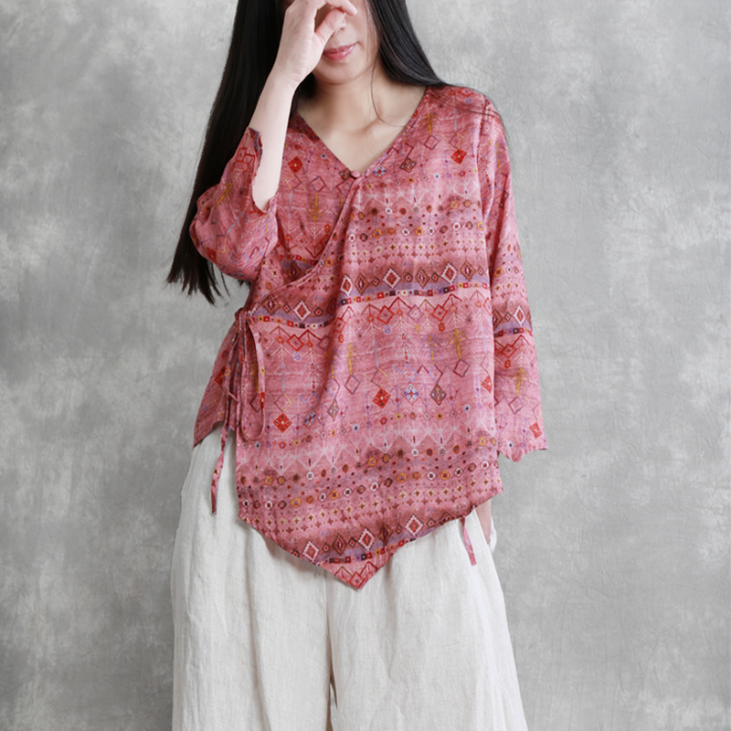 Свободная блуза из конопли