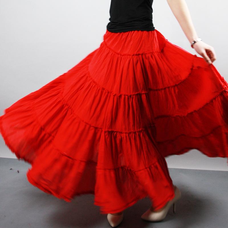Яркие цветные юбки