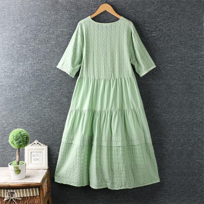 Left-Lefty платье с вышивкой