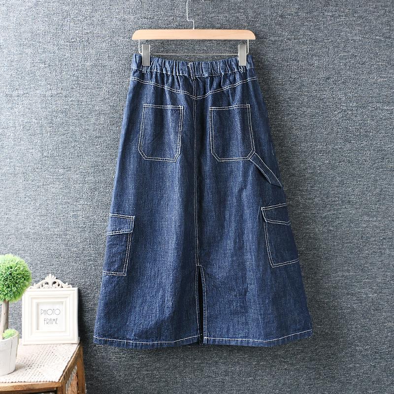 Left-Lefty юбка джинсовая