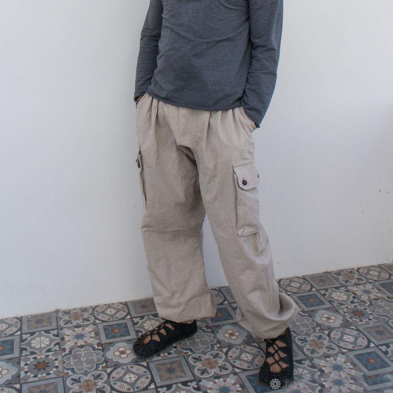 MarlЁn мужские льняные штаны