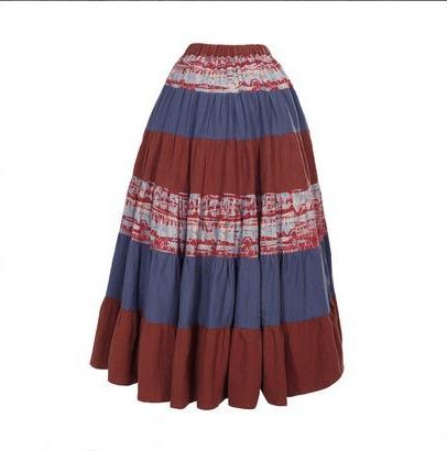 Ярусная юбка (шоу-рум)