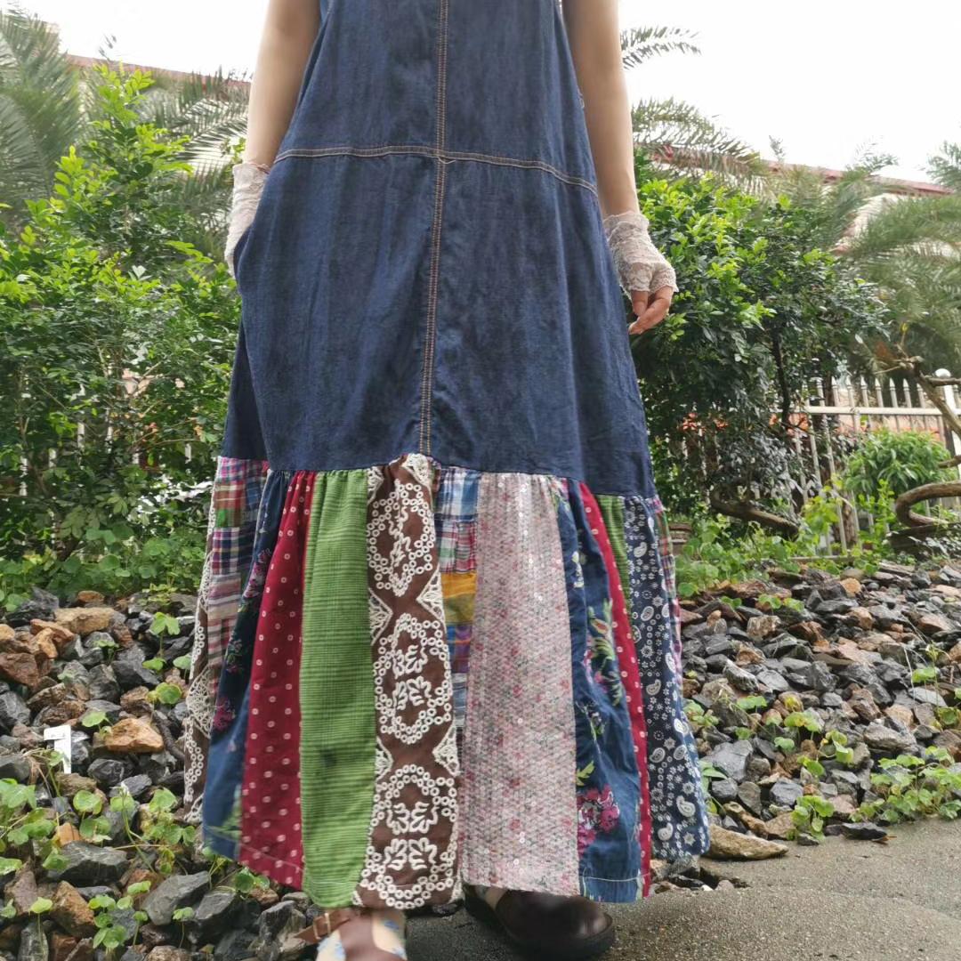 Blue yingsu джинсовый сарафан