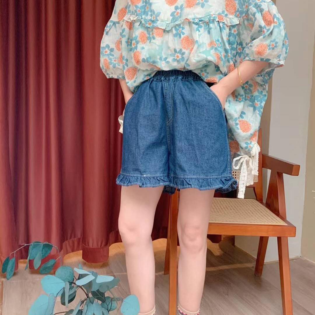 Blue yingsu шорты джинсовые (2)