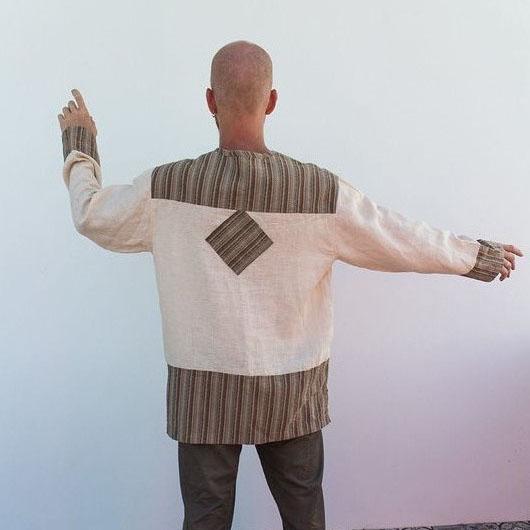 MarlЁn рубаха мужская Рубаи