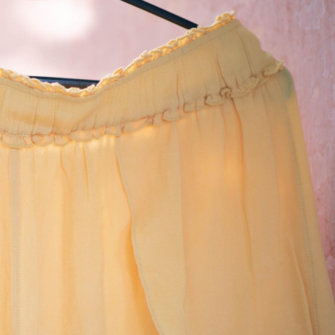 Fat face шорты жёлтые