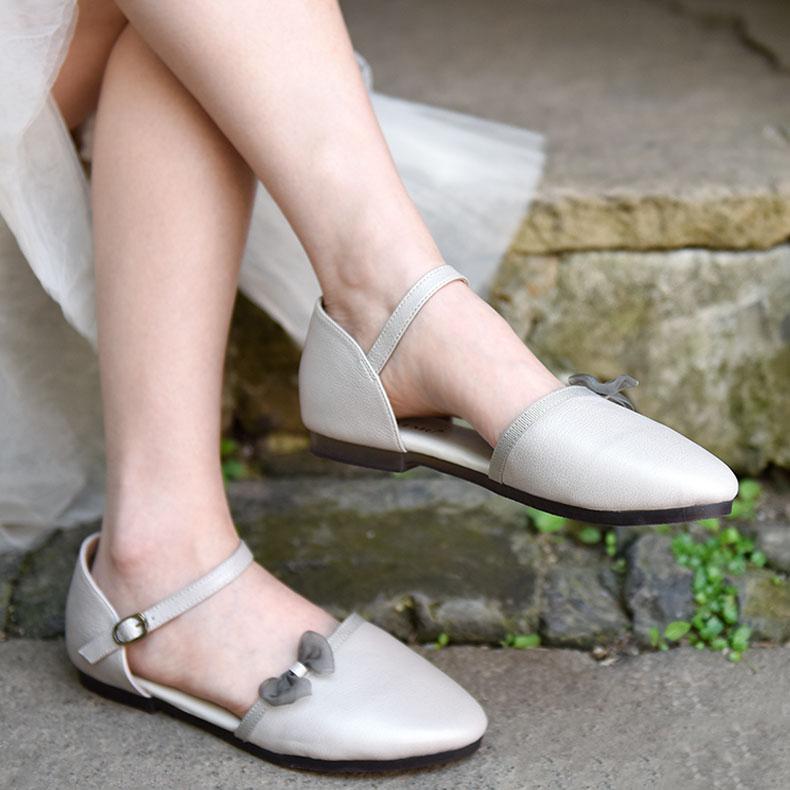 Artmu ретро туфли с бантиком